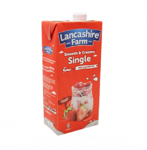 Lancashire Farm UHT Single 1 Litre | Buy Online at the Asian Cookshop